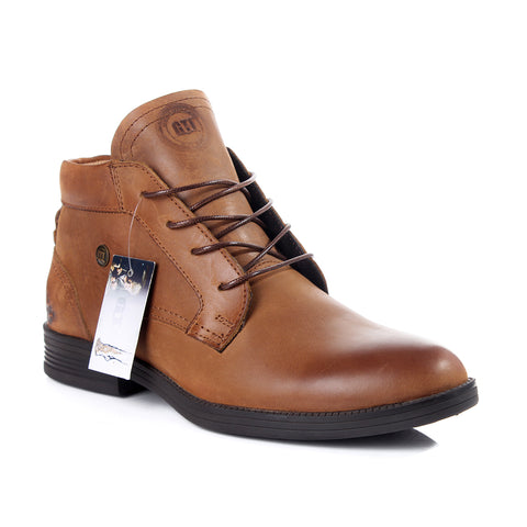 Men winter shoes / 100 % genuine leather -6036