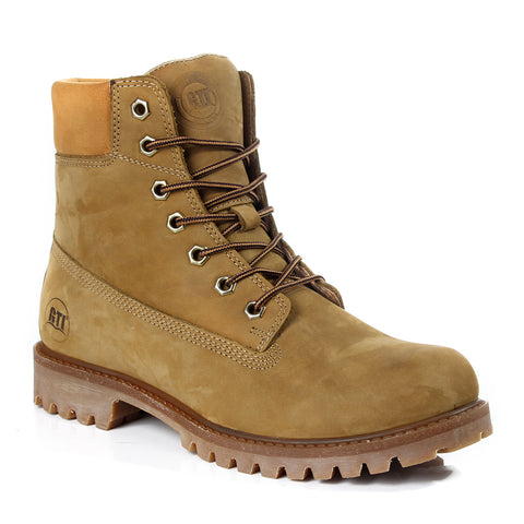 Safety Boots design / 100 % genuine leather -6025