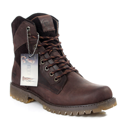 Safety Boots design / 100 % genuine leather -6029