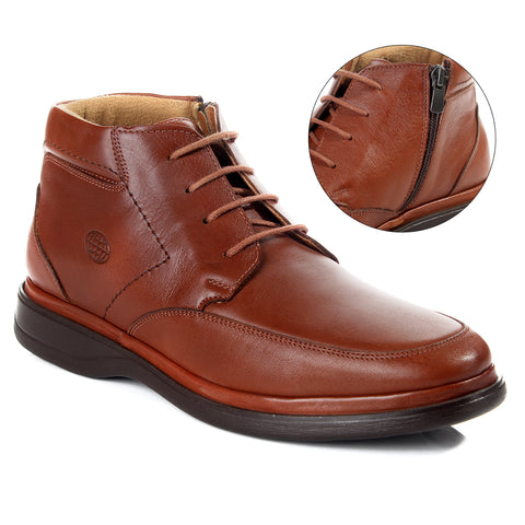 Medical shoes / genuine leather 100 % -6077