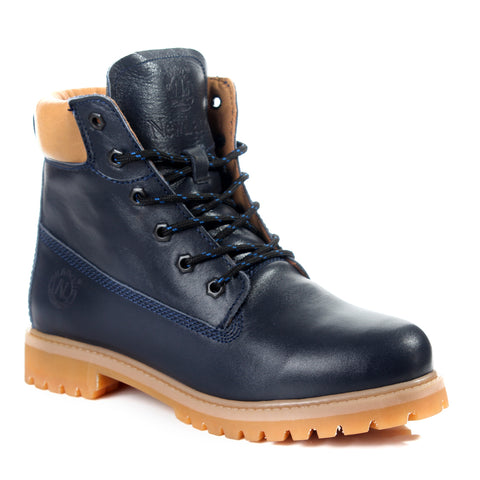 Safety Boots design / 100 % genuine leather -6061