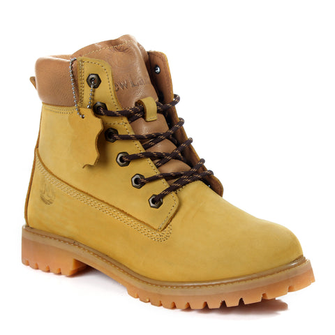 Safety Boots design / 100 % genuine leather -6062