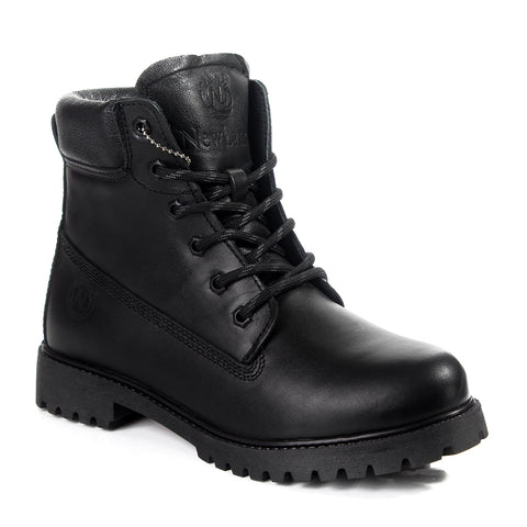Safety Boots design / 100 % genuine leather -6064