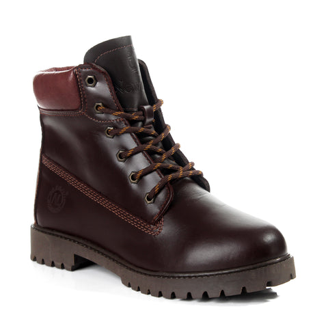 Safety Boots design / 100 % genuine leather -6065