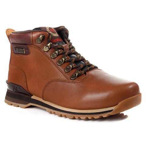 Men winter shoes / 100 % genuine leather -6056