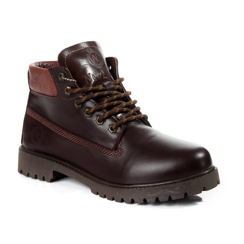 Safety Boots design / 100 % genuine leather -6048