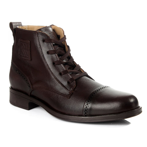 Men winter shoes / 100 % genuine leather -6051