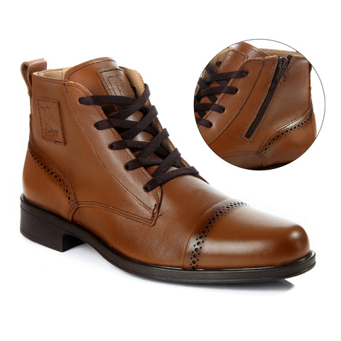 Men winter shoes / 100 % genuine leather -6059