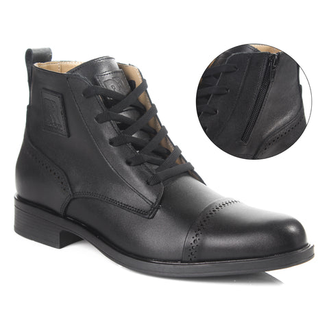 Men winter shoes / 100 % genuine leather -6060