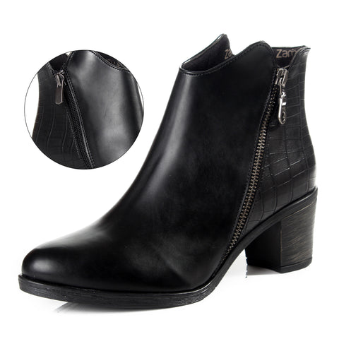 Women winter boots / genuine leather 100 % -6095