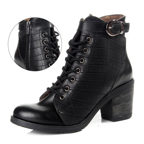 Women winter boots / genuine leather 100 % -6099