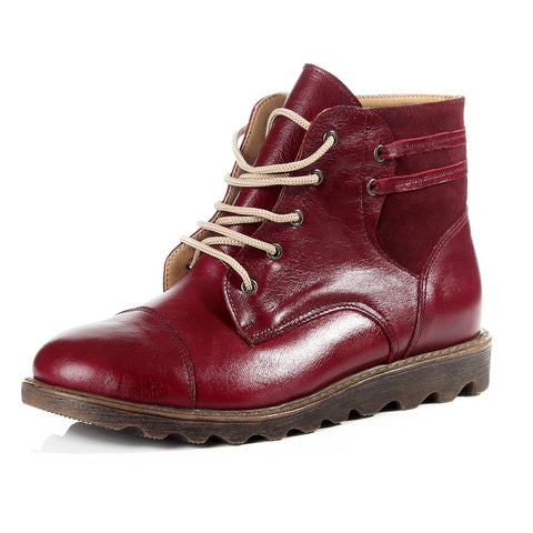 Women winter boots / genuine leather 100 % -6090