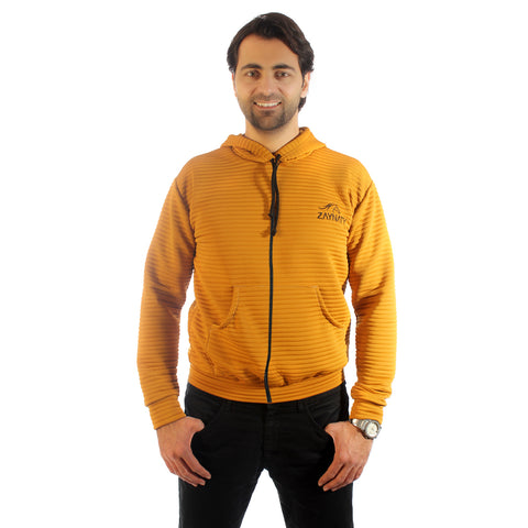 Original Zaynaty Embroider Full Zip Up Stylish Hoodies -6005