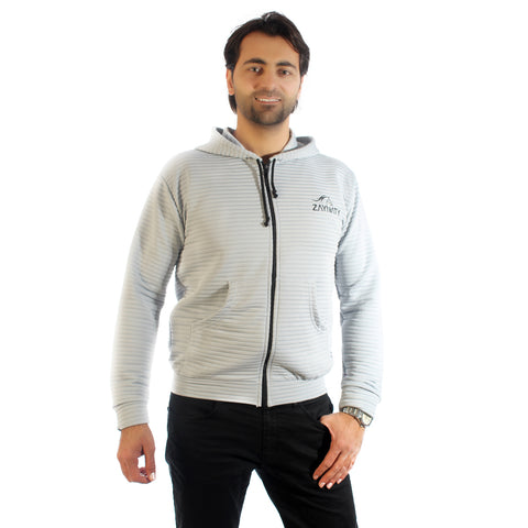 Original Zaynaty Embroider Full Zip Up Stylish Hoodies -6006