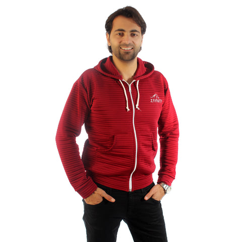 Original Zaynaty Embroider Full Zip Up Stylish Hoodies -6008