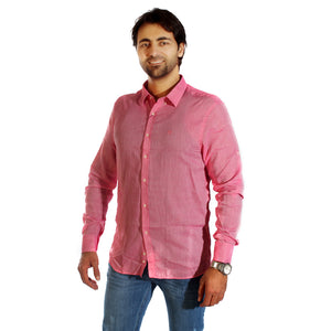 Men shirt- pink/ made in Turkey -3310