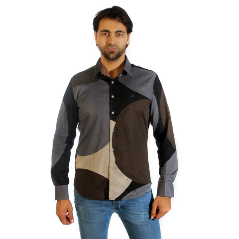 Men shirt- colored / made in Turkey -3306