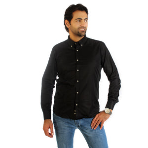 Men shirt- black/ made in Turkey - 3312