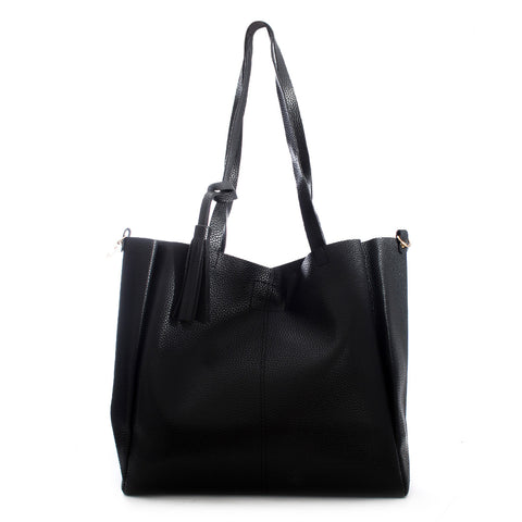 women bag/ 30 cm * 40 cm/ black/ made in turkey -3466