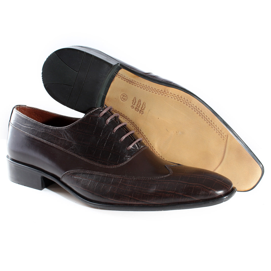RUSTIC MEN FORMAL SHOES -3487-10