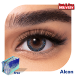 Coloured Contact Lenses Mystic Blue -6473
