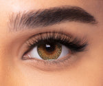 Coloured Contact Lenses - Mystic Hazel -6475