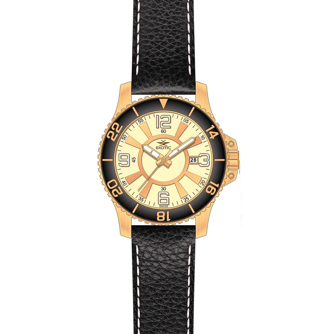 Men watch (Exotic) Swiss Made -3785
