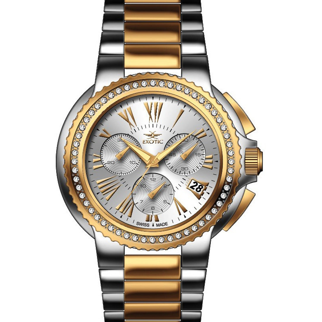 Women watch (Exotic) Swiss Made -3825