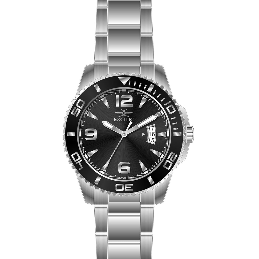Men watch (Exotic) Swiss Made -3798