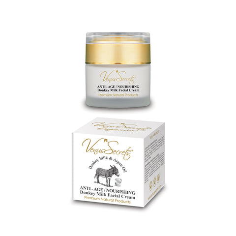 """DONKEY MILK FACIAL CREAM ANTI-AGE / NOURISH. 50ML "" -5023"