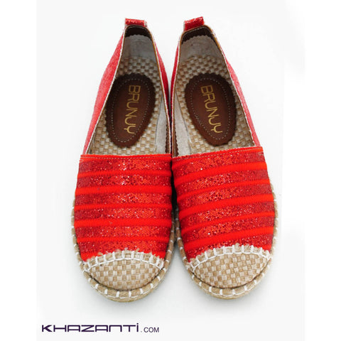 Brunjy Red Shoes  -205