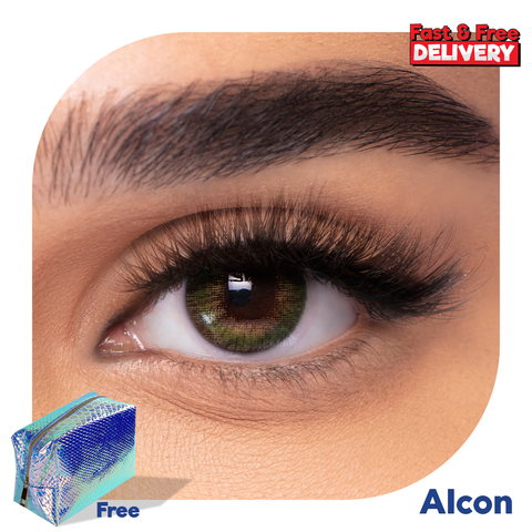 Coloured Contact Lenses Green -6472