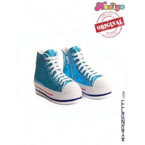 HEDIYE KIDS BLUE SHOES -307