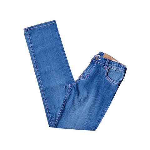 GIRL PANTS (JEANS) COLOR BLUE -415