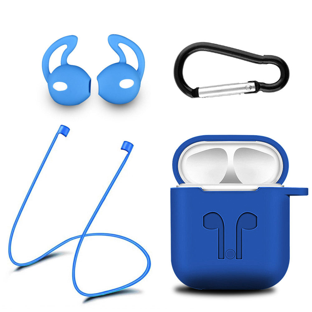 Blue New Airpod protective Silicone Case