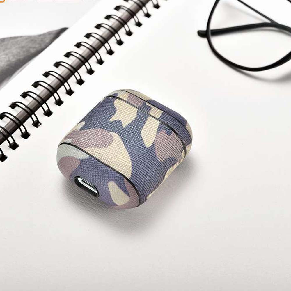 Genuine Leather Camouflage Case