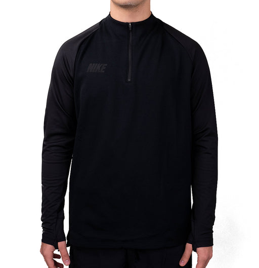 Nike Dri-Fit Squad Drill Top  Black/Black
