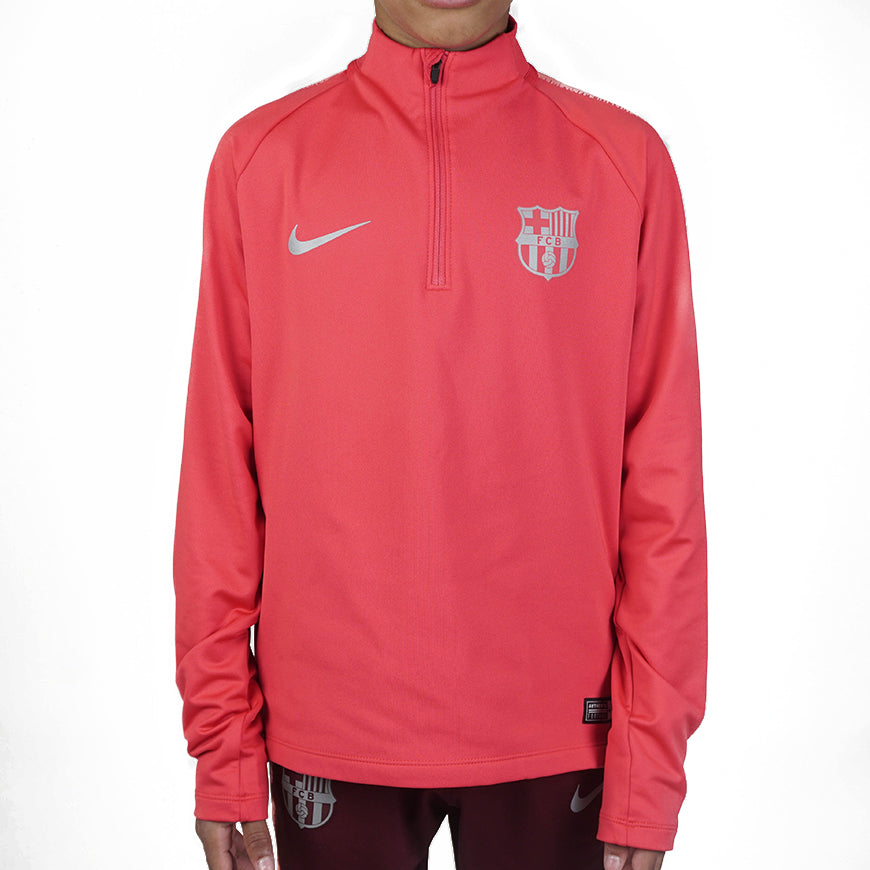 Fc Barcelona Kids Drill Top Red