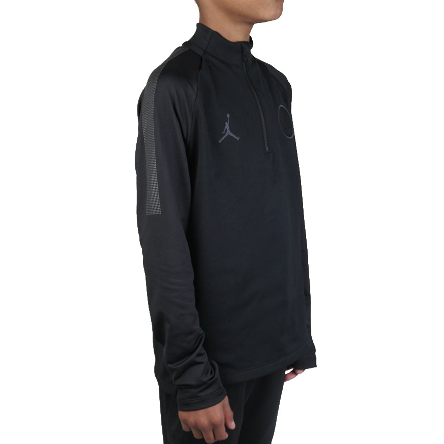 Paris Saint-Germain Dry Squad drill Top Kids Black/Anthracite