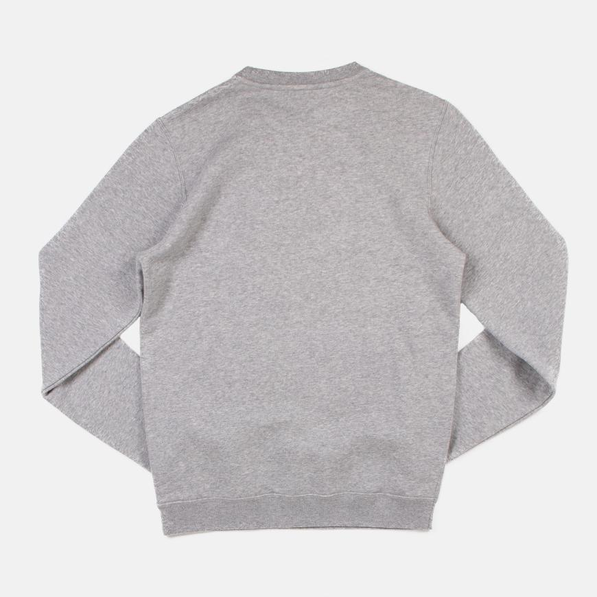 Nike Sportswear Club Crew ������ Dark Grey Heather/White