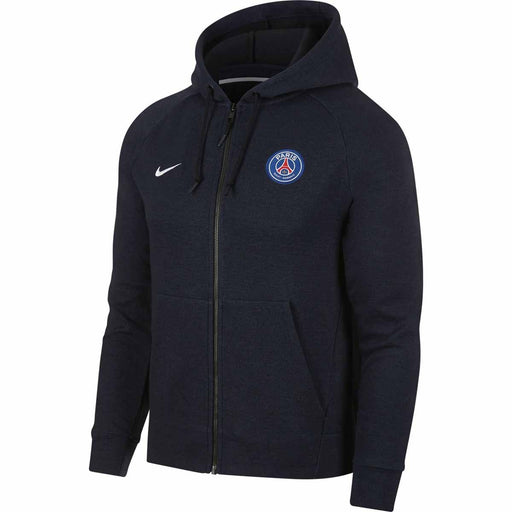 Nike PSG Mens NSW Hoody Black Midnight Navy white