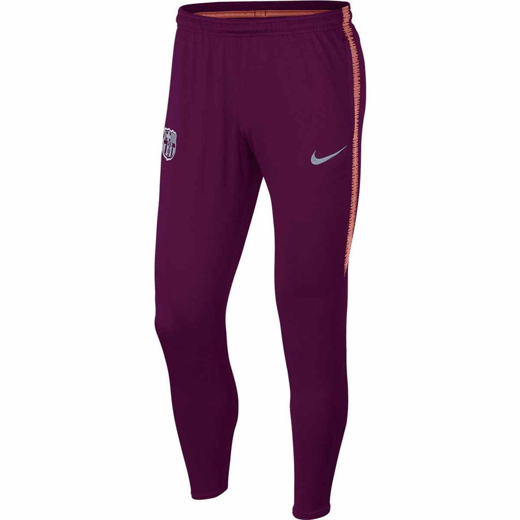 Fc Barcelona Dry Squad Pant  Deep Maroon/Light Atomic Pink