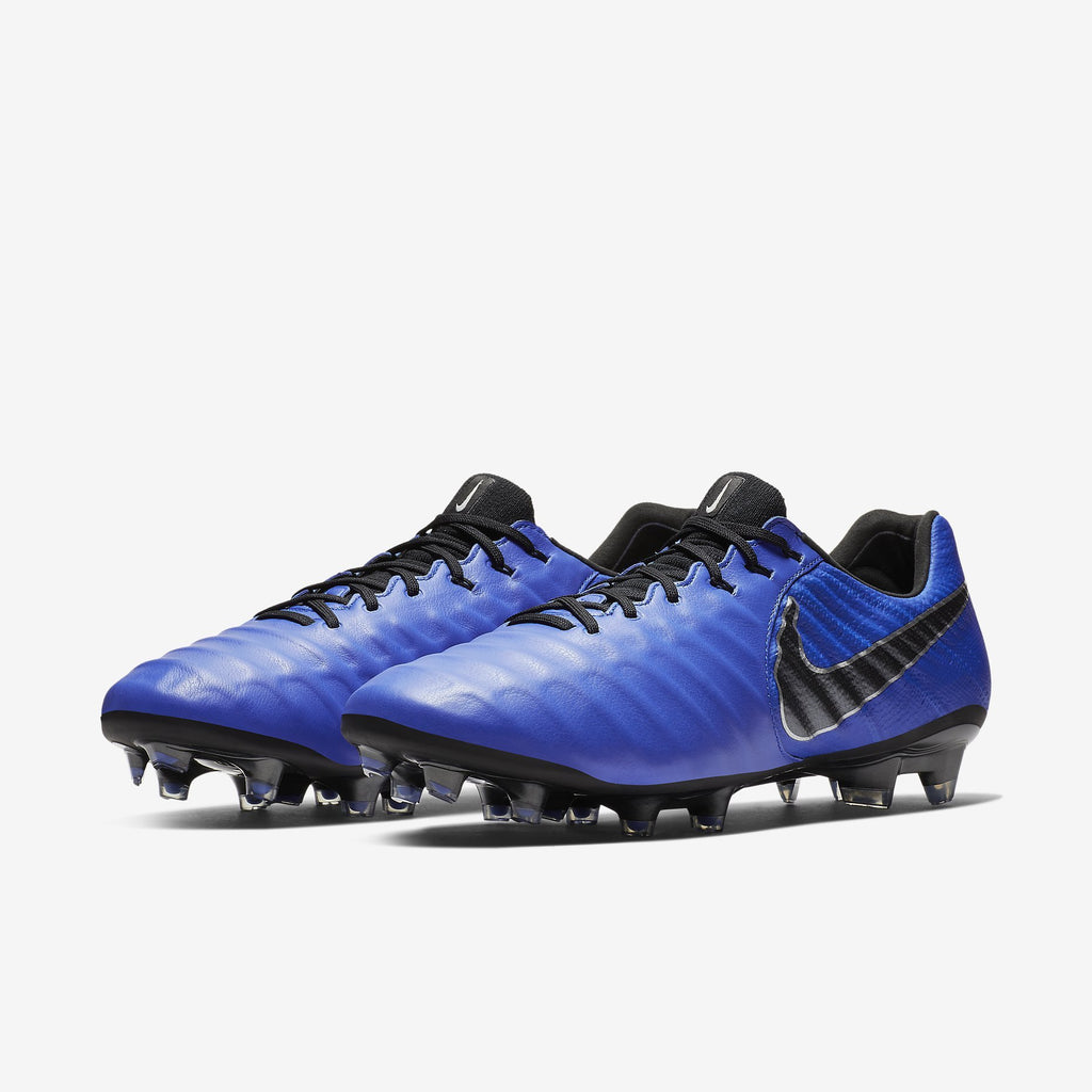 Nike Tiempo Legend 7 Elite Fg Racer Blue/Black-Metallic Silver