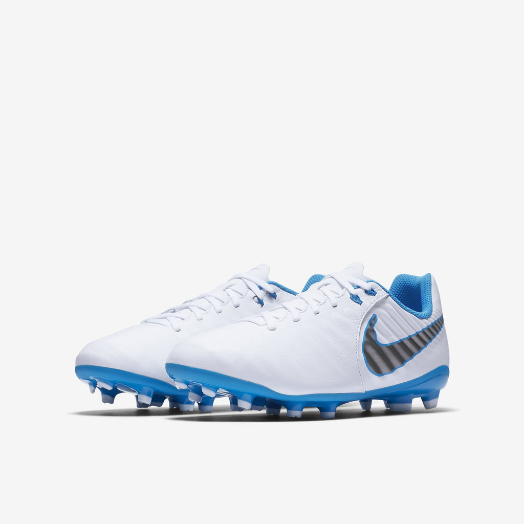 Nike Tiempo Legend 7 Academy Fg Kids  White/Blue