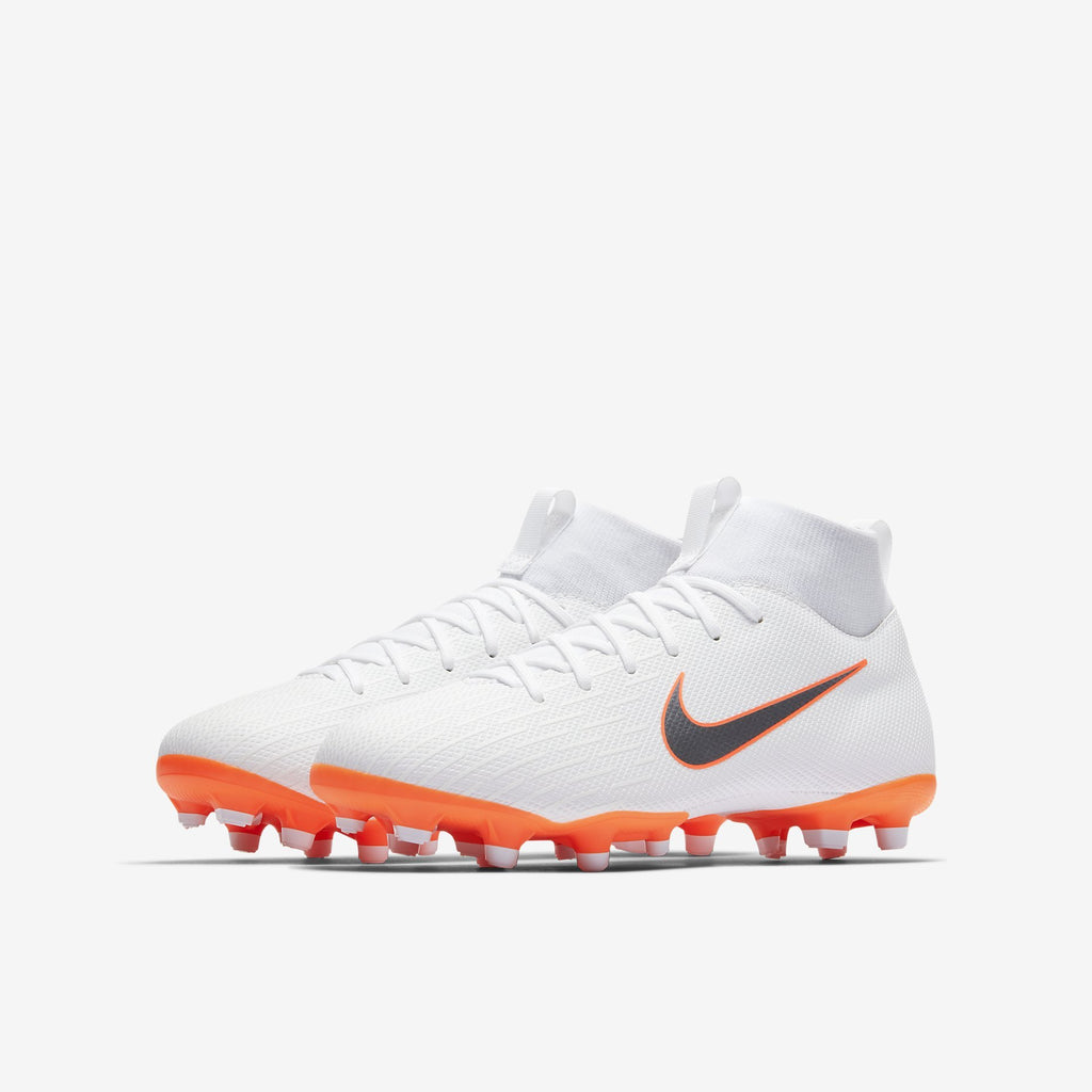 Nike Mercurial Superfly 6 Academy Gs-Mg Kids  White/Orange