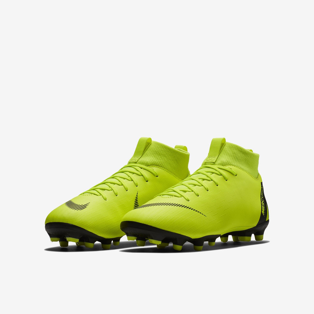 Nike Mercurial Superfly 6 Academy Fg/Mg Kids Volt/Black