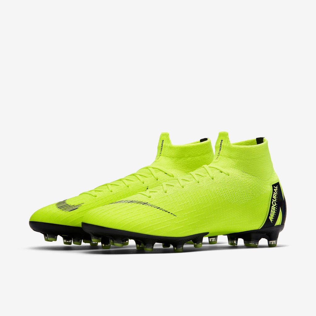 Nike Mercurial Superfly 6 Elite Sg-Pro Anti Clog Volt/Black