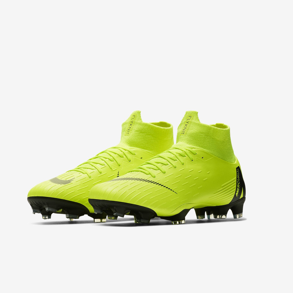 Nike Mercurial Superfly 6 Pro Fg Volt/Black