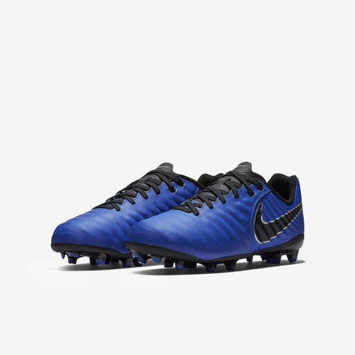 Nike Tiempo Legend 7 Academy Fg Kids Racer Blue/Black-Metallic Silver