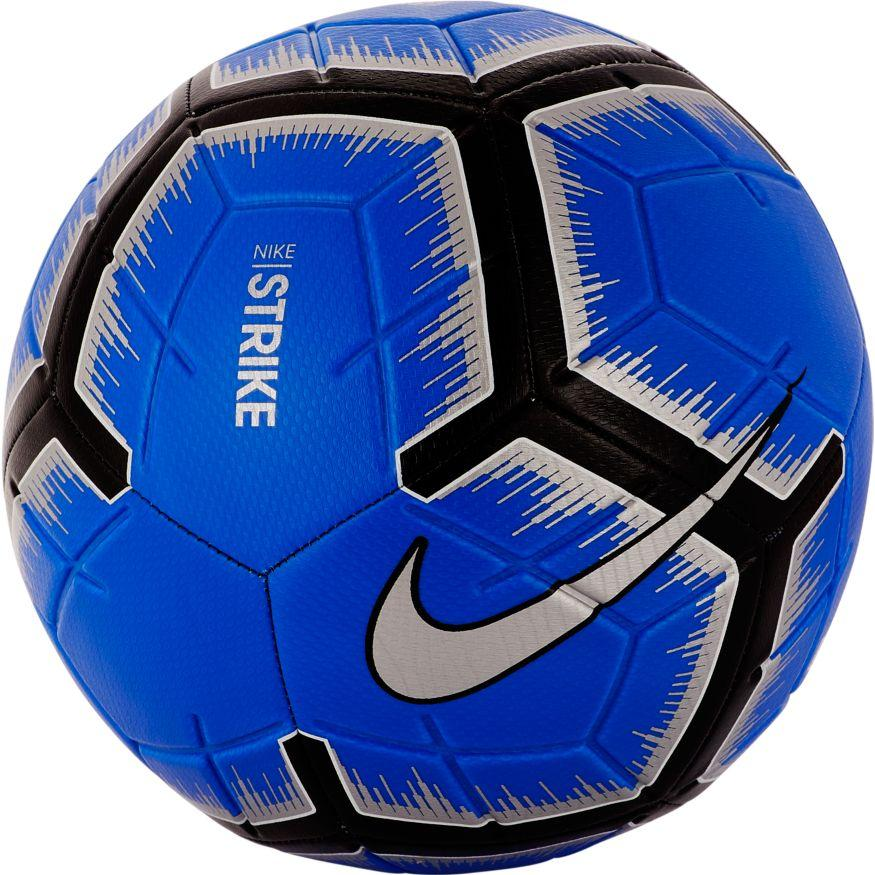 Nike Strike Soccer Ball Racer Blue/Black/Metallic Silver